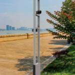 Led Spot voorbeeld mast 1